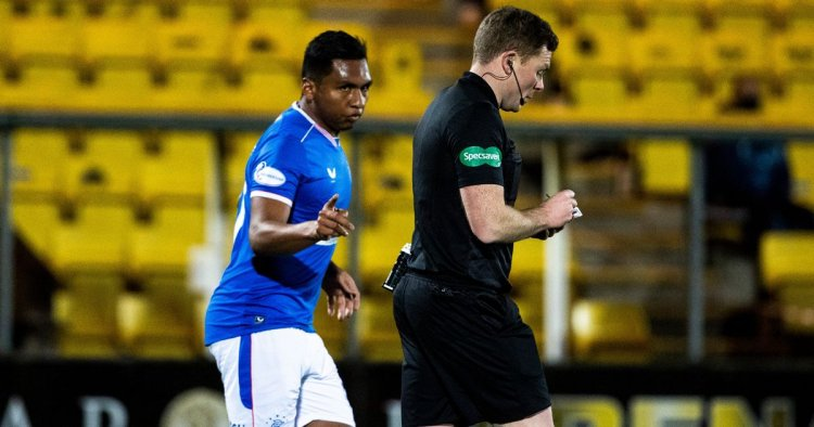 Rangers' Alfredo Morelos yellow card appeal will take place on Friday