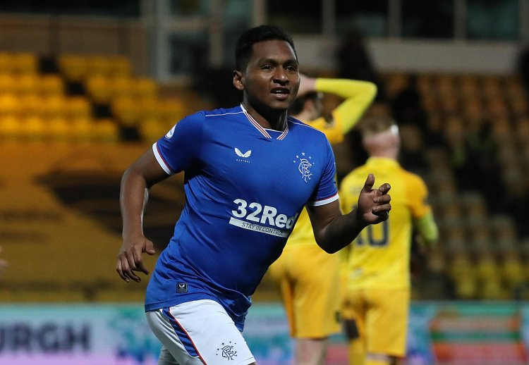 Alfredo Morelos issues '55' title message to Rangers fans