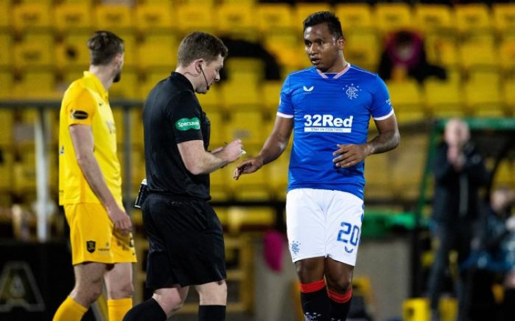 Alfredo Morelos and Rangers learn simulation yellow card appeal fate