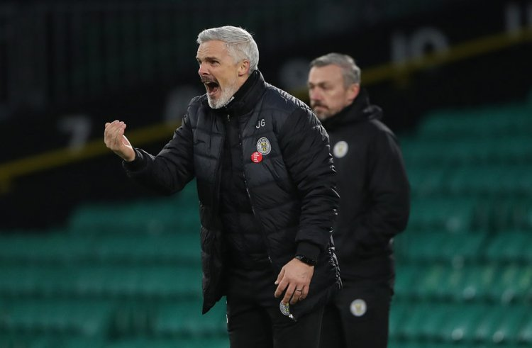 St Mirren boss Jim Goodwin vows to play attacking football at Ibrox