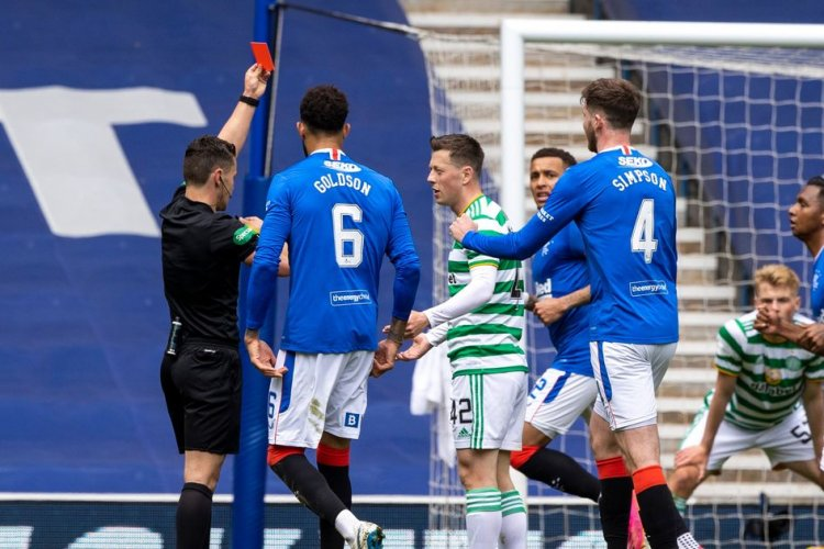 Marvin Bartley feels referee could have let Callum McGregor's red card go