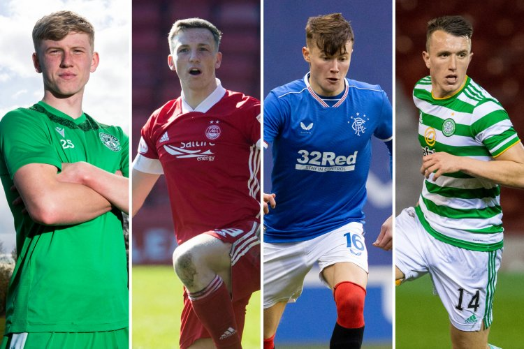 Josh Doig, Lewis Ferguson, Nathan Patterson and David Turnbull on SFWA Young Player of the Year shortlist