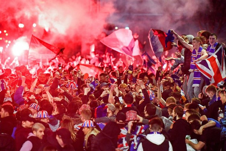 Police hand Rangers fans warning ahead of planned trophy day march