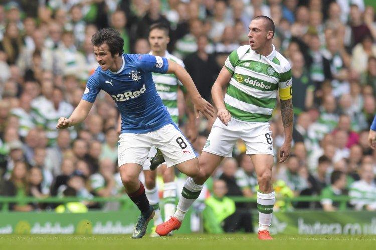 Celtic captain Scott Brown aims final parting shot at former Rangers midfielder Joey Barton