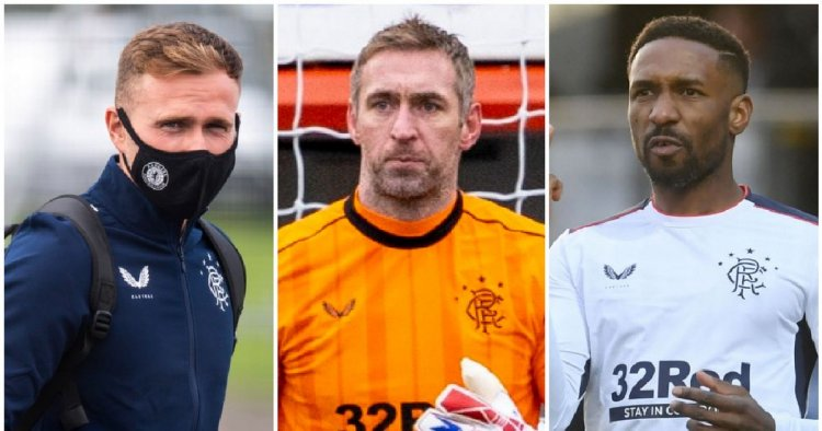 The 8 out-of-contract Rangers players assessed as decision time nears