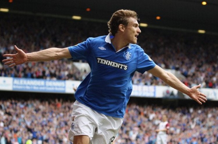 'Classy and lethal': These Rangers fans salute former Ibrox star Nikica Jelavic as he retires