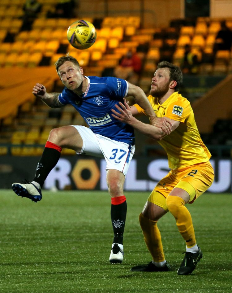 How did the Rangers players rate in their last gasp win over Livingston?