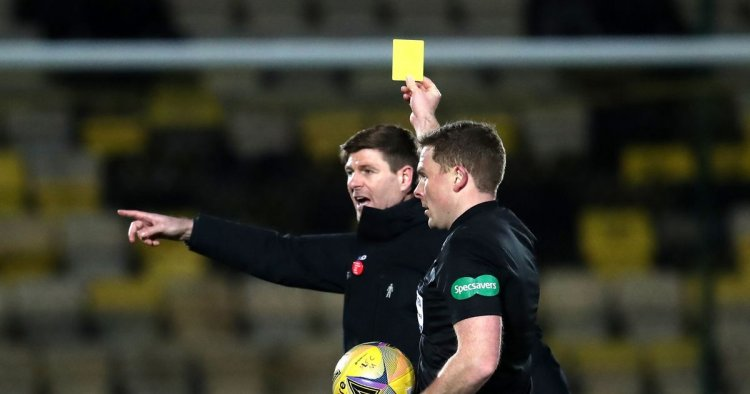 Rangers boss Steven Gerrard could get ban stay of execution