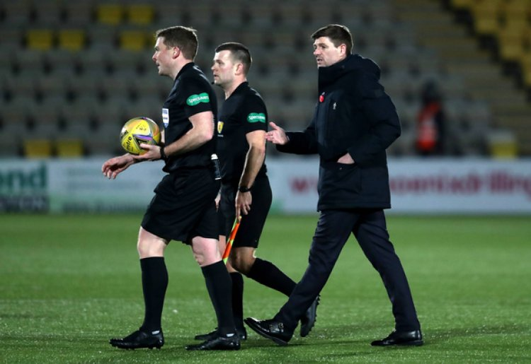 Rangers news: Michael Stewart blasts Gerrard for half-time actions vs Livi