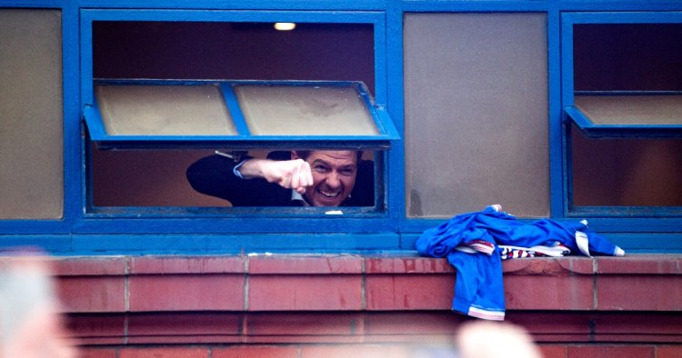 Watch: Steven Gerrard celebrates with fans as Rangers close in on league title - Planet Football