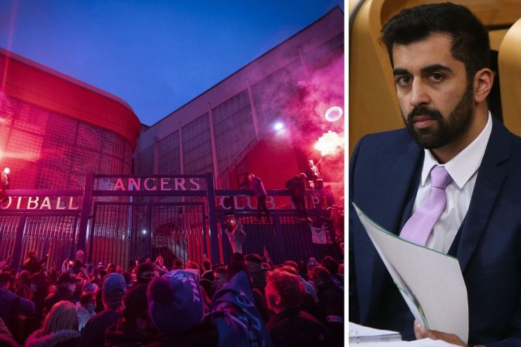 Humza Yousaf warns Rangers fans action could still be taken and Euro hopes 'into jeopardy'