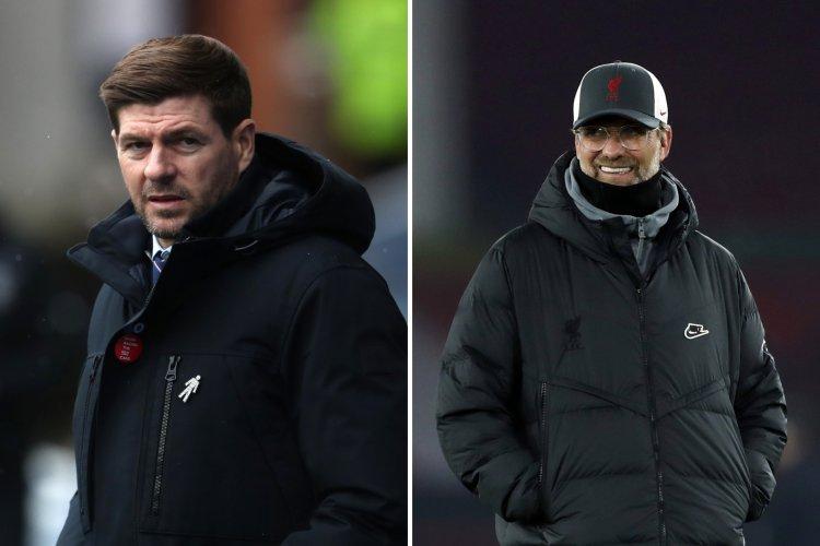 Liverpool congratulate Rangers and Steven Gerrard on Premiership crown