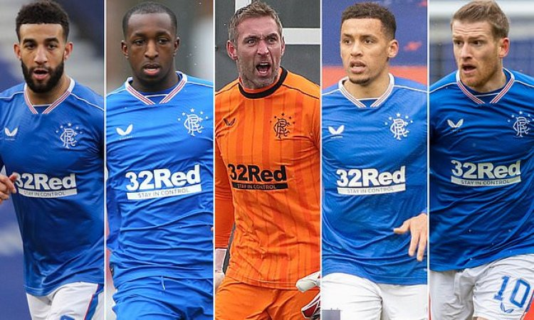 Five key players that sealed 55 for Rangers