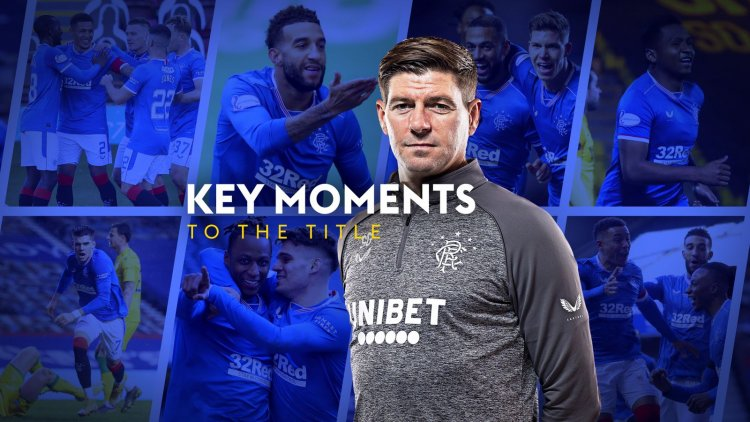 How Rangers won the Scottish Premiership: 12 games that saw the title return to Ibrox